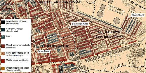 Charles Booth Map Charles Booth: Political Reform and the Spatiality of Poverty