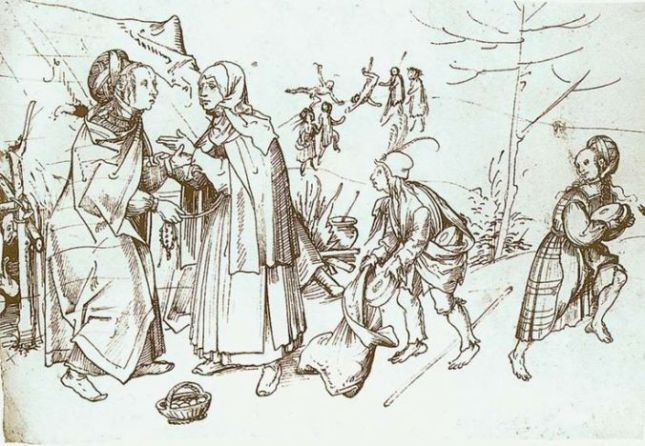 gypsies-in-the-market-hans-burgkmair-1510