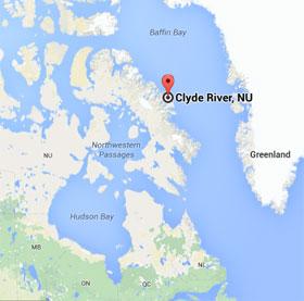 clyderivermap